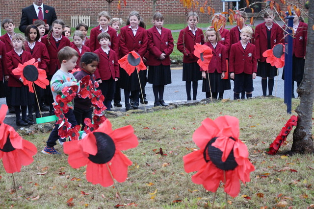Poppies, poems and prayers for Remembrance at The Royal School