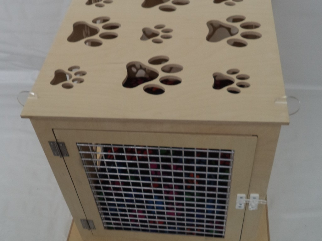 GCSE Charlotte Small Portable, flat packed dog travel crate