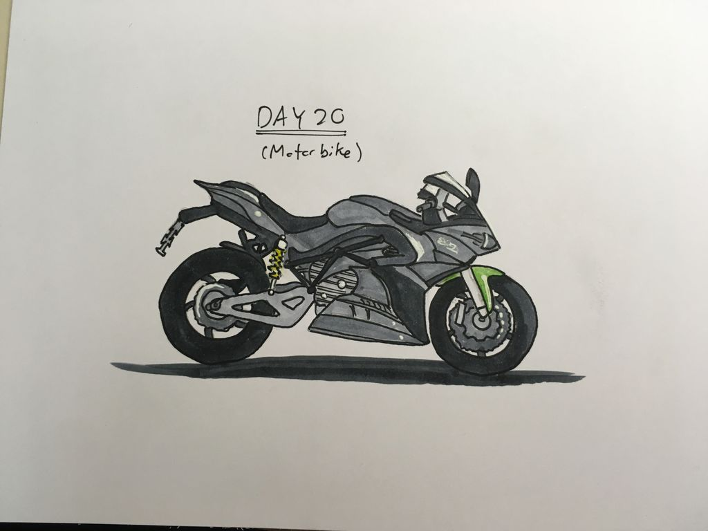 James goh motorbike