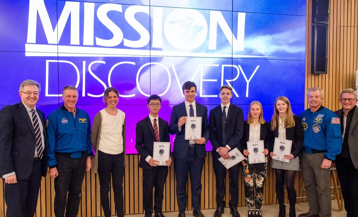 Mission Discovery awards night