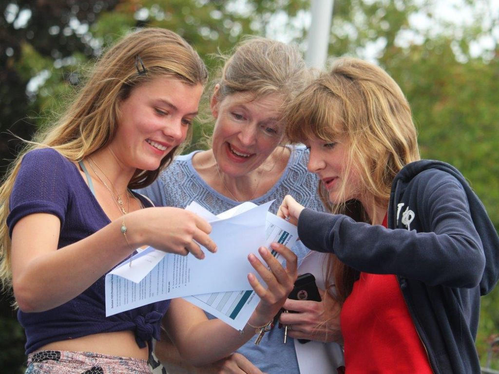 Delight at Truro High School as the school celebrates 100% pass rate at GCSE
