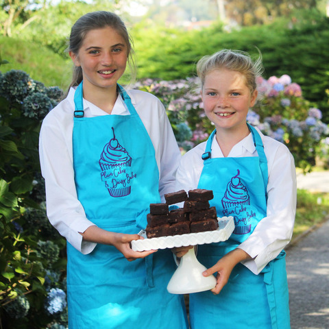 11-year-old best friends, Plum and Daisy, who have won a national enterprise award