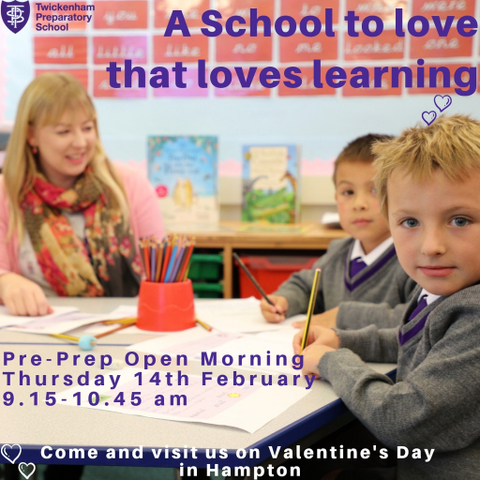 Pre Prep Open Morning Twickenham Prep School Hampton