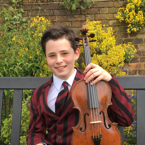 Jaren has enjoyed outstanding success playing the viola this year.