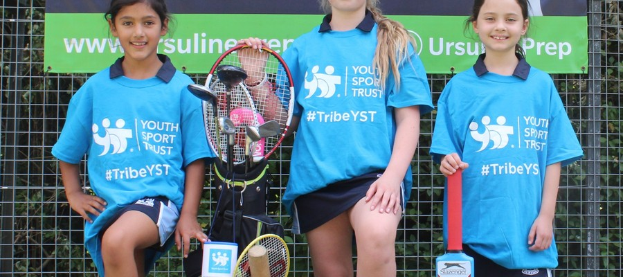 Youth Sport Trust encouraging girls to a life of sport