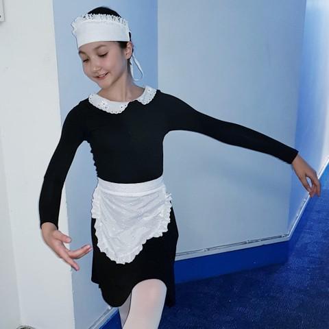 Emma, 'a little maid'