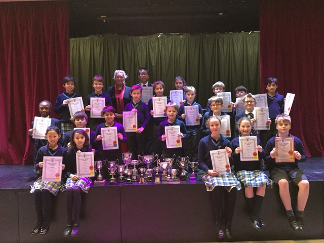 Vinehall Musicians and Drama competitions celebrate their wins