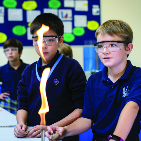 """Pupils achieve high standards… due to exemplary attitudes and their overwhelming enthusiasm."""