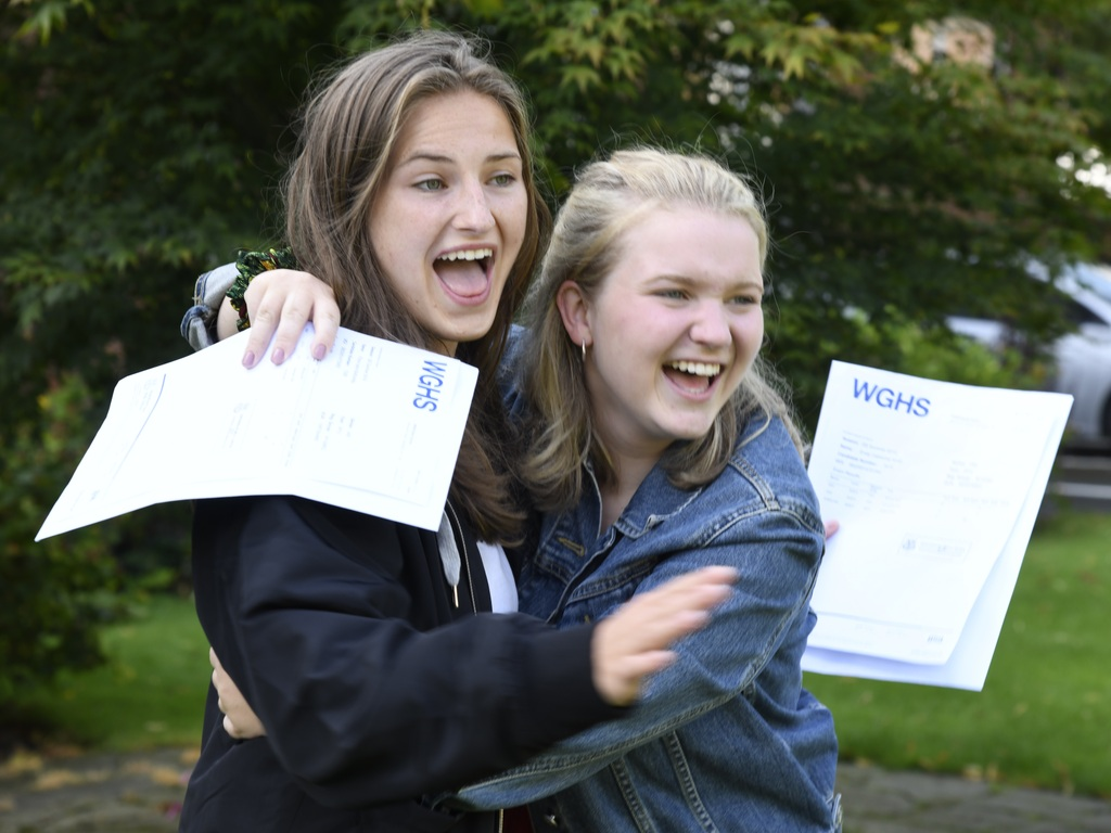 Wakefield Girls' High School celebrate A Level results