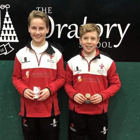 Winners of the U13 National Real Tennis Championships