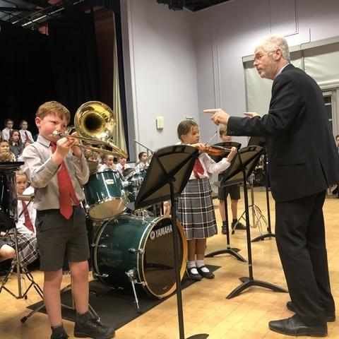 Ensembles competed for their houses