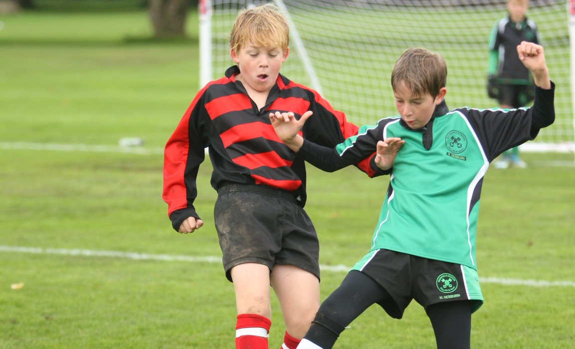 IAPS Under-11 Football tournament at Westbourne House School, Chichester Credit: DEPhoto