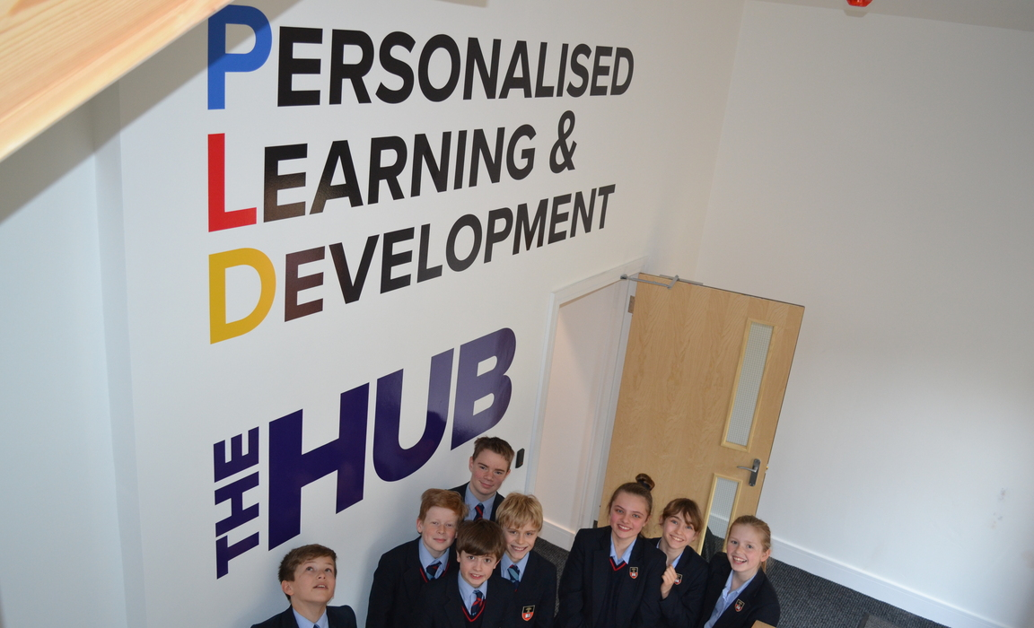 West Buckland School's new Personalised Learning and Development department