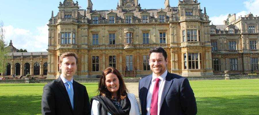 Sam Antrobus, Wishford Schools; Natasha Dangerfield, Head of Westonbirt; Sean Price, Headmaster of Westonbirt prep