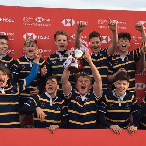 U14 Sevens rugby double champions
