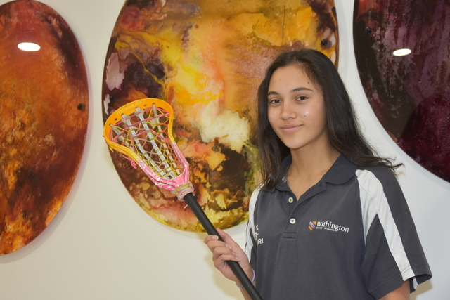 England Lacrosse Success for Withington Girls' School student