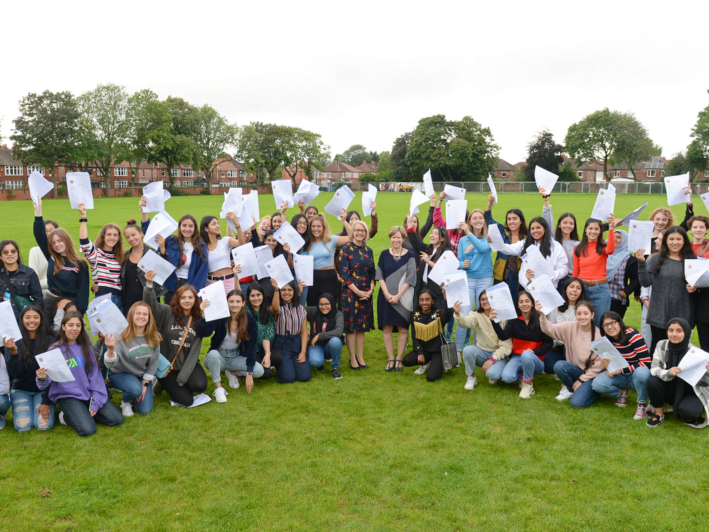 Withington GCSE pupils shine with elite grades at 55%