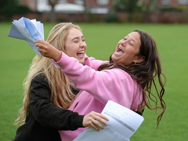 Withington Girls' School's record-breaking A* results