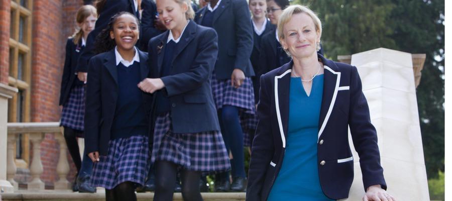 Woldingham Headmistress, Alex Hutchinson