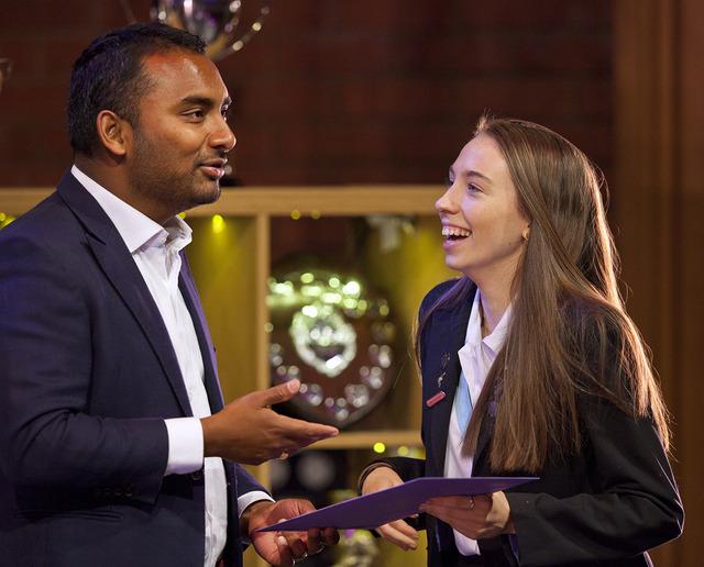 Amol Rajan, BBC Media Editor gives Prize Day address at Woldingham School