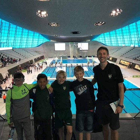 Yarrells School Boys Swim Team