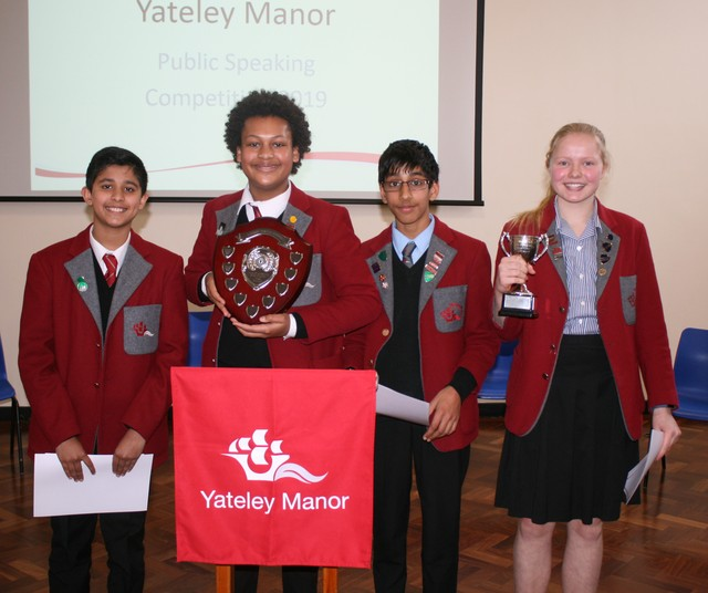 Yateley Manor's Public Speaking Competition