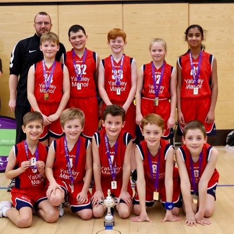 U11 Basketball Champions